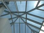 Sonnenschutzfolierung Glaspyramide