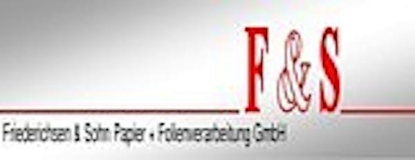 Logo von Friederichsen & Sohn Papier- und Folienverarbeitung GmbH