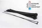 Kalte-beständige kabelbinder