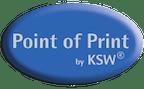 Logo von Point of Print by KSW®, KSW – Vertriebsgesellschaft GmbH