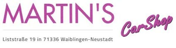 Logo von Martins Car Shop GmbH