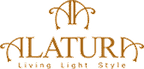Logo von ALATURA Alabasterlampen & Alabasterleuchten