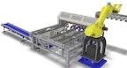 3-Blatt Säge mit Robotterhandling