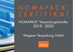 Nomapack Zertifikat NMC