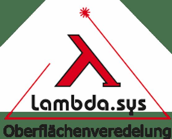 Logo von Lambda.sys Oberflächenveredelung GmbH