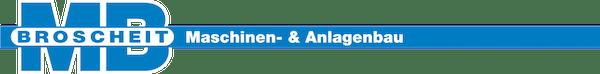 Logo von Broscheit Maschinen- & Anlagenbau GmbH