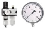 Druckregler - Manometer - Thermometer